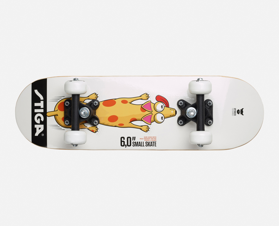 Stiga - Skateboard Dog 6.0 - White (80-0522-10)