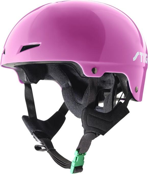 Stiga - Kids Helmet Play - Pink M (52-65) (82-5047-05)