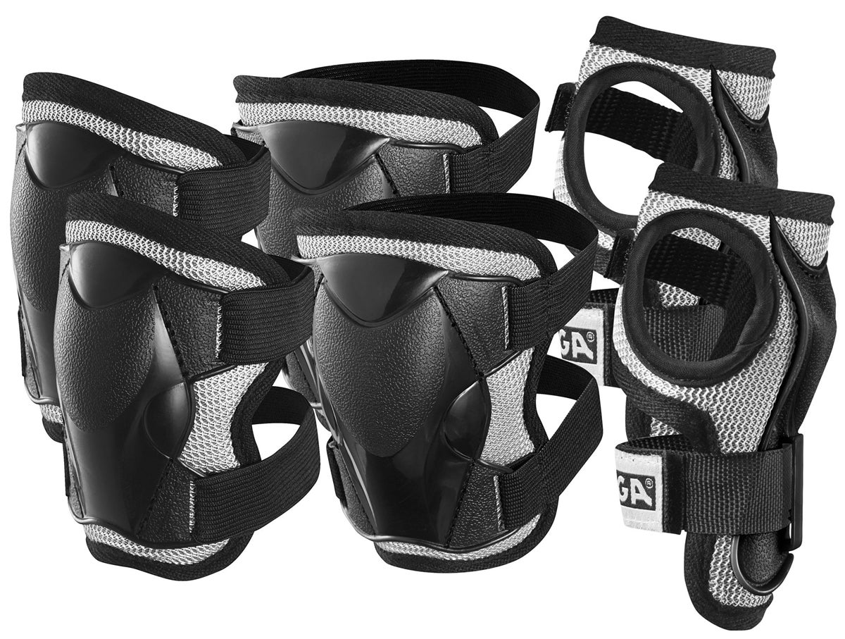 Stiga - Safty Set - Black S (4-6 years) (82-2741-04)