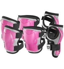 Stiga - Beskyttelses Sæt - Pink S (4-6 år)