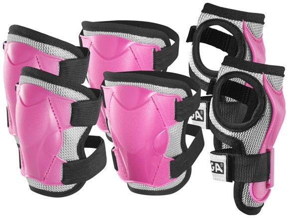 Stiga - Safty Set - Pink M (6-9 years )(82-2747-05)