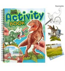 Dino World - Aktivitets Malebog