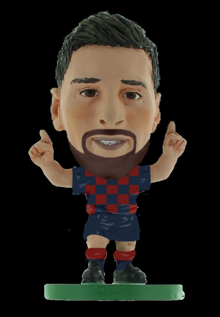 Soccerstarz - Barcelona Lionel Messi Home Kit (2020 version)