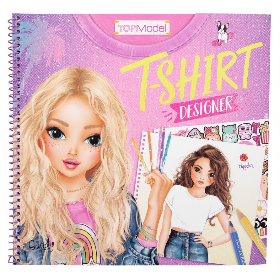 Top Model - T-Shirt Designer Colouring Book (410921)