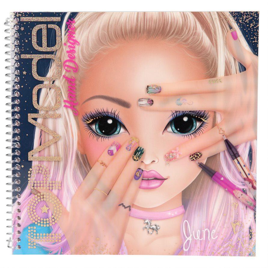 Top Model - Hand-Design Colouring Book (410929)