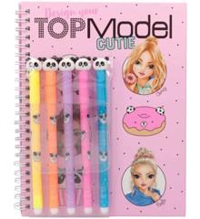 Top Model - Malebog med Tusser - Candy Cake