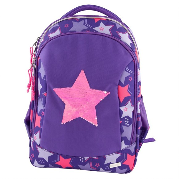 Top Model - School Backpack Rev. Sequins - Star (10678)