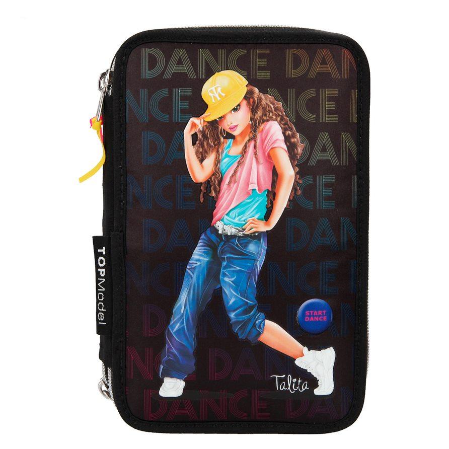 Top Model - Triple Pencil Case - LED Dance (410966)