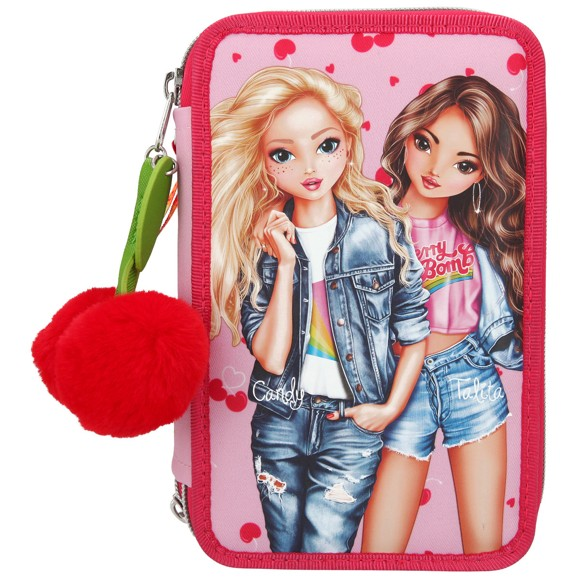 Top Model - Triple Pencil Case - Cherry Bomb (410991)