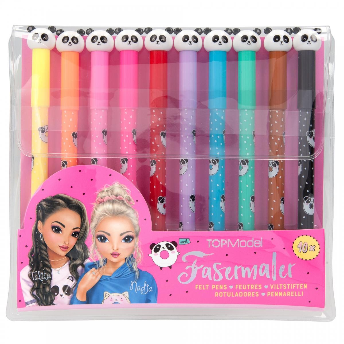Top Model - Felt Pen Set - Candy Cake (48678)
