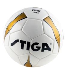 Stiga - Prime Match Fodbold - Hvid/Guld (str. 5)