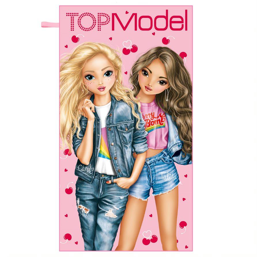 Top Model - Microfibre Towel - Cherry Bomb (411005)