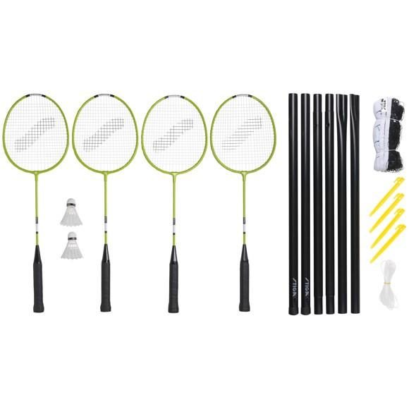 Stiga - Weekend WS Badminton set (78-1071-14)