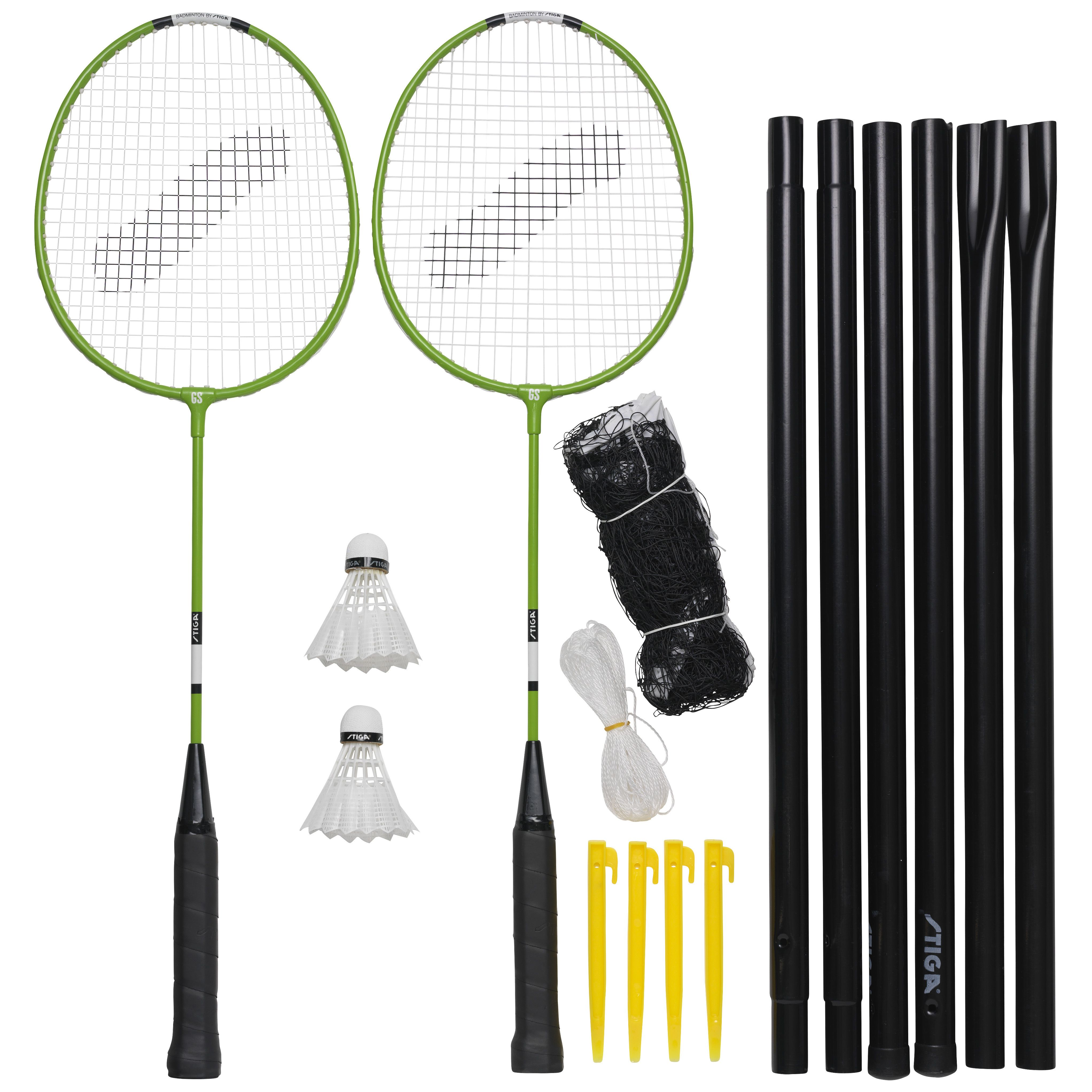 Stiga - Garden GS Badminton set (78-1071-12)