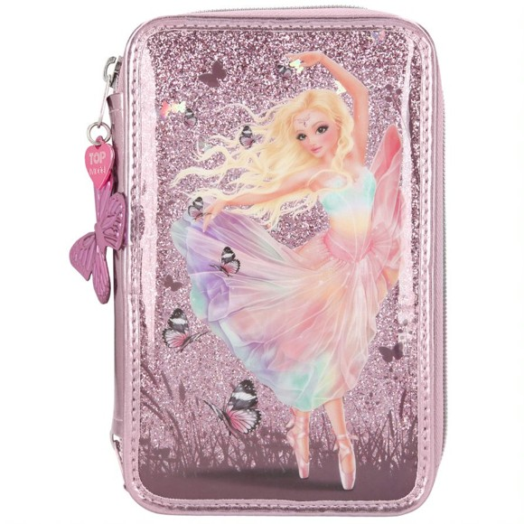 Top Model - Fantasy Model - Triple Pencil Case - Ballet (410907)