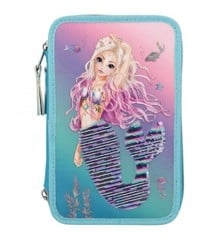 Top Model - Fantasy Model - Triple Pencil Case w/Sequins - Mermaid (410978)