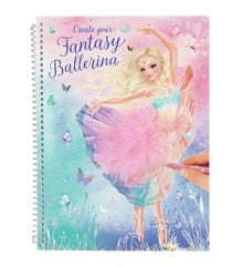 Top Model - Fantasy Model Colouring Book - Ballet (0411051)