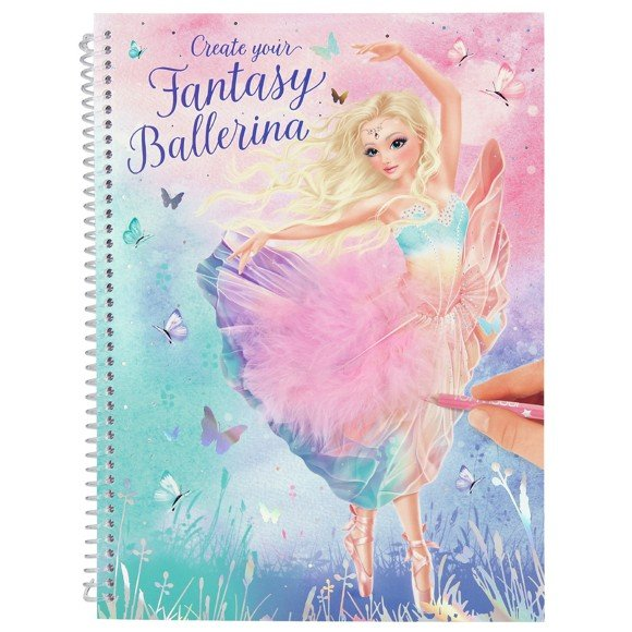 Top Model - Fantasy Model Colouring Book - Ballet (0411051)