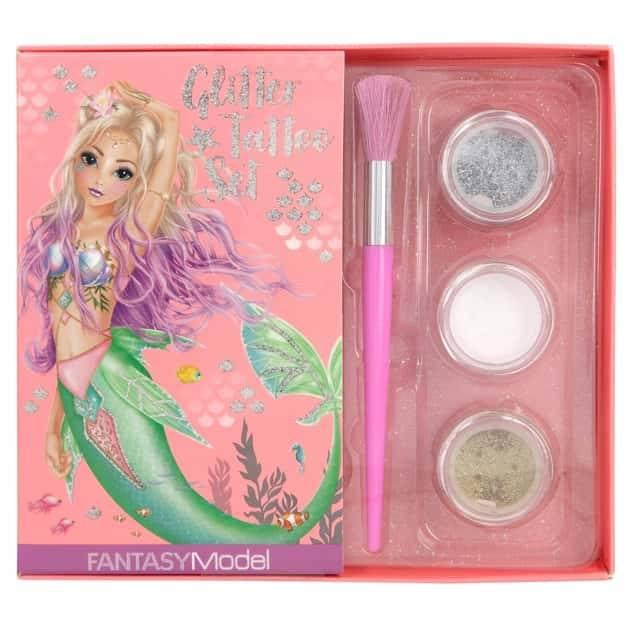 Top Model - Fantasy Model - Glitter Tattoo Set - Mermaid (411111)