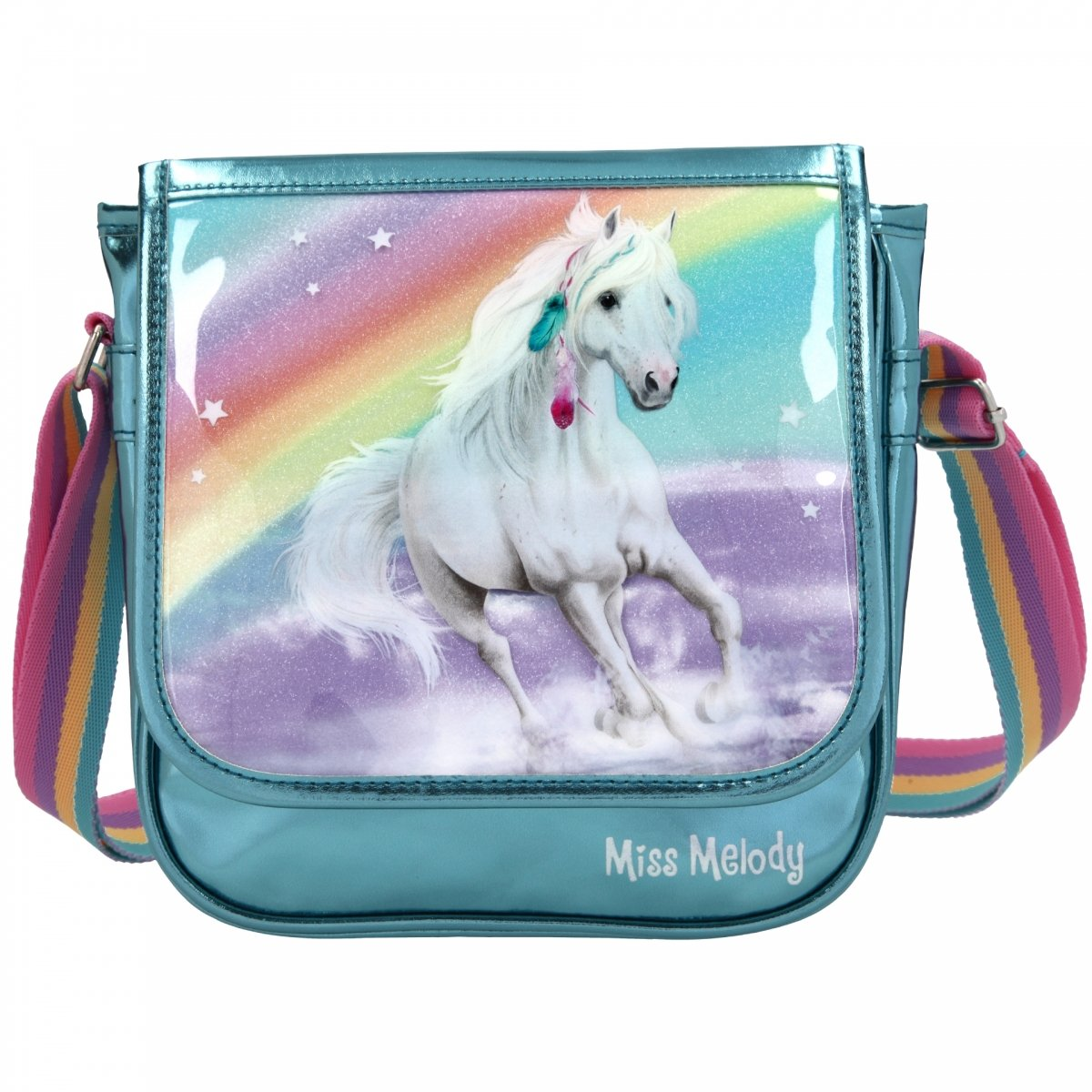 Miss Melody - Small Shoulder Bag - Rainbow (411057)