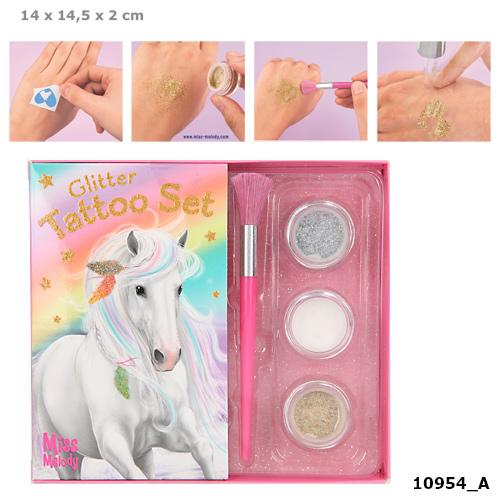 Miss Melody - Glitter Tattoo Set (410954)