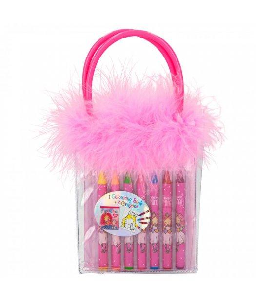 Princess Mimi - Colouring Book With Wax Crayons (046343)