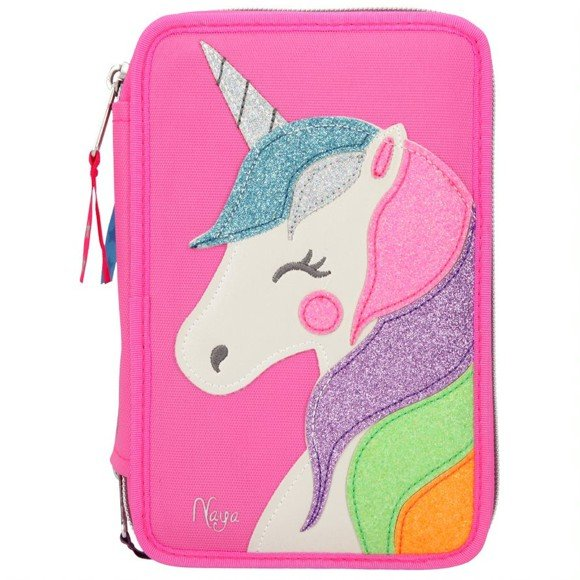 Ylvi & The Minimoomis - Triple Pencil Case Naya - Pink (410645)