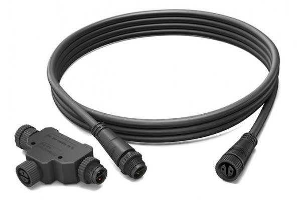 Philips Hue – Verlängerungskabel - Niederspannungskabel 2,5M + T-Part Philips Hue LV Cable 2,5M + T-Part