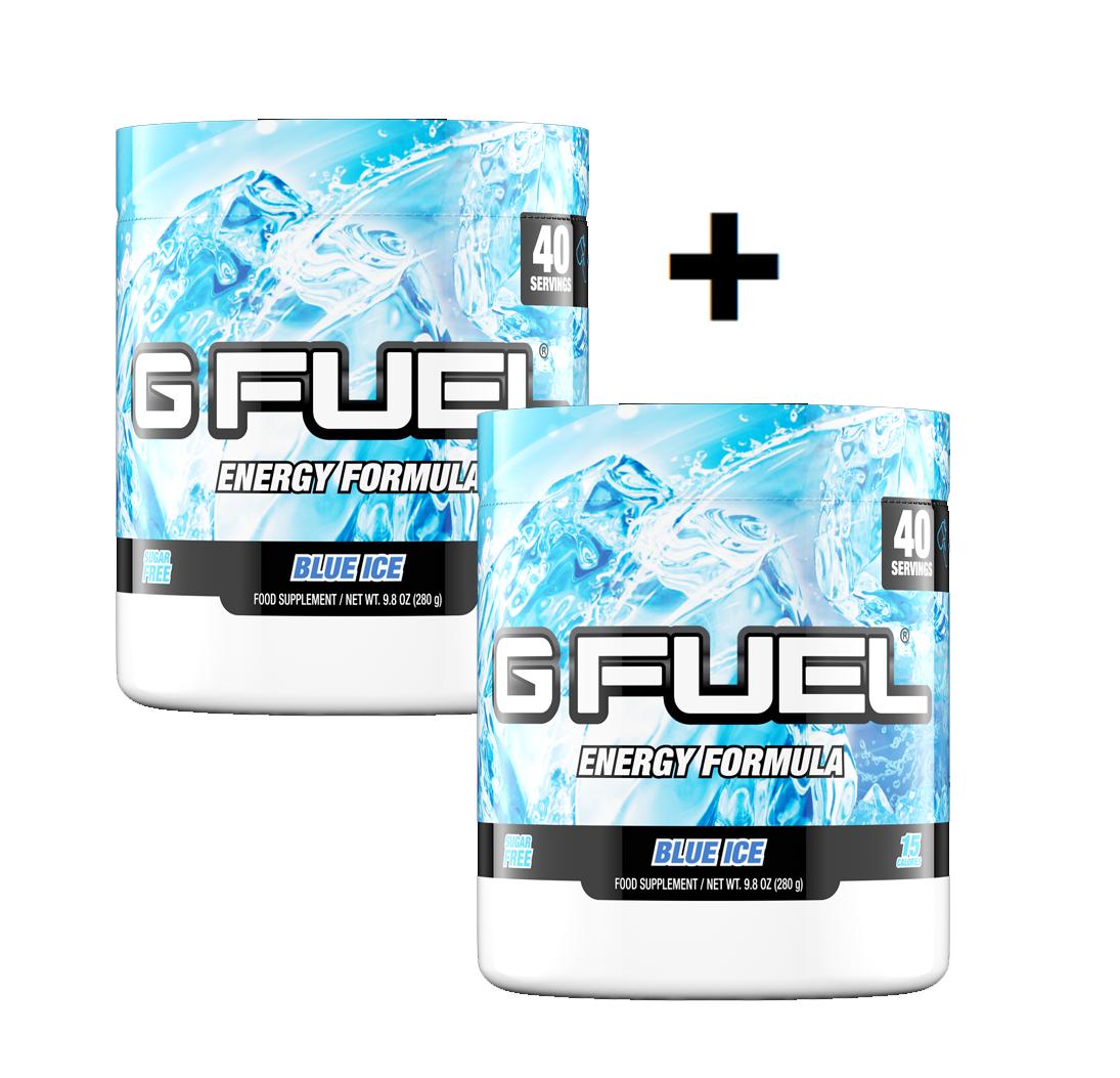 G Fuel - Blue Ice Tub 2 Pack - Bundle