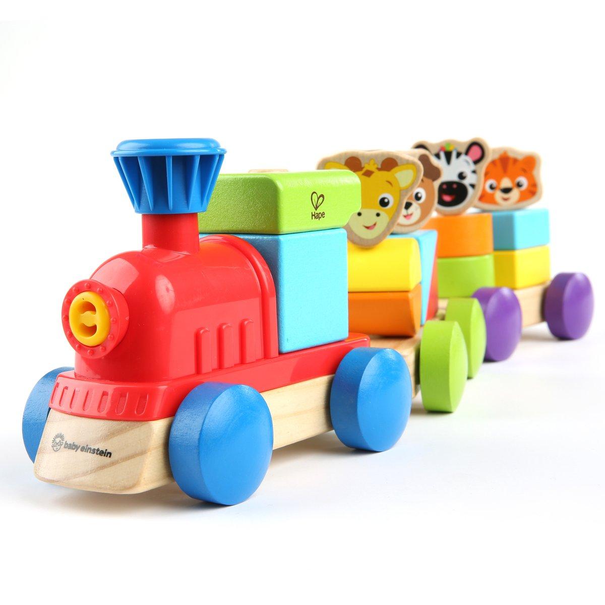 Hape - Baby Einstein - Wooden Discovery Train (6110)