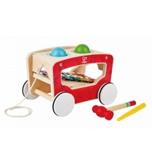 Hape - Pull along activity wagon (8257)