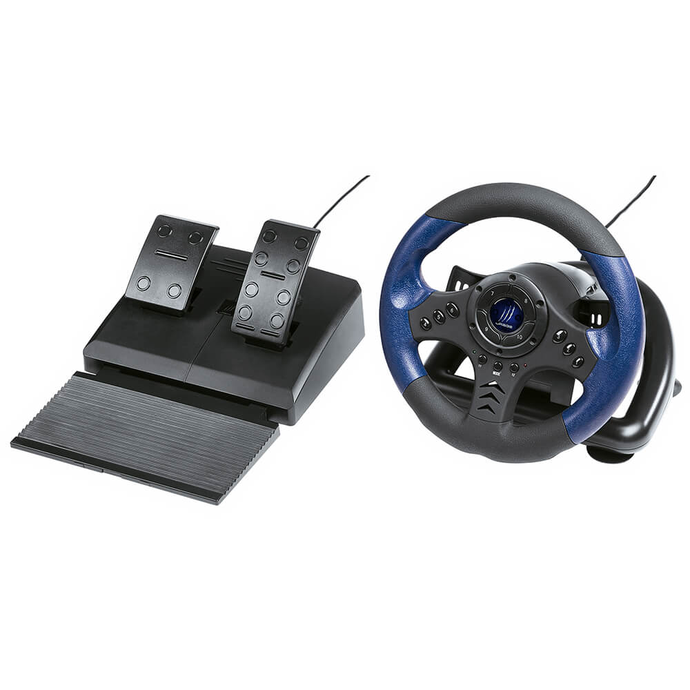Hama - Urage Gaming Racing Wheel GripZ 500 Incl. Pedals