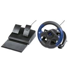 Hama - Urage Gaming Racing Wheel GripZ 500 Incl. Pedals