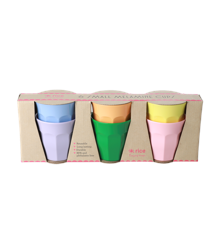 Rice - Melamine Cups 6 Pcs Small - Let's Summer
