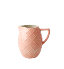Rice - Ceramic Jug - Coral