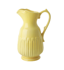 Rice - Ceramic Jug - Bright Yellow