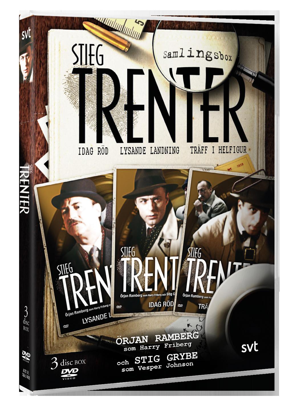Trenter 3 Deckare - DVD