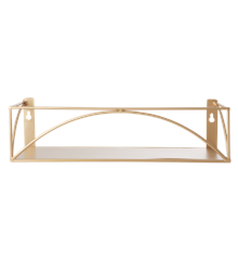 Rice - Metal Shelf - Gold
