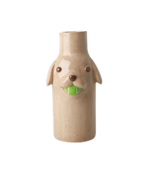 Rice - Ceramic Dog Shape Vase - Stella