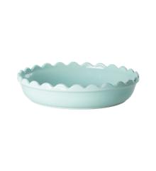 Rice - Stoneware Pie Dish - Mint S