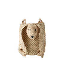 Rice - Hanging Seagrass Storage Basket - Bunny