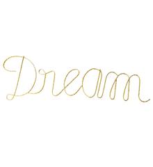 "Rice - LED Skilt ""Dream"""