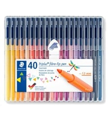 Staedtler - Triplus Color, 40 pcs (323 SB40)