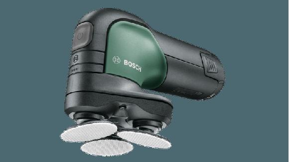 Bosch - EasyCurvSander 12 - Batteridrevet poleremaskine (Batteri ikke inkluderet)