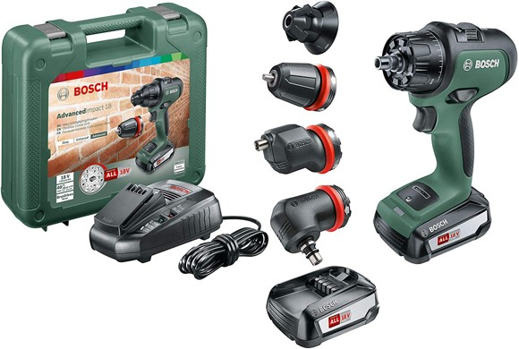Bosch -  Impact Drill Advanced  18V  (Batteries and charger included)