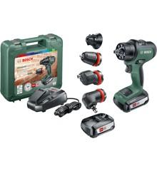 Bosch - UniversalImpact 18V Batteridrevet bore-/skruemaskine (Batteri og lader inkluderet)