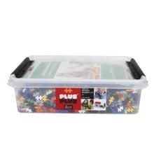 Plus Plus - Mini Basic - 4000 stk + 12 bunnplater (3388)
