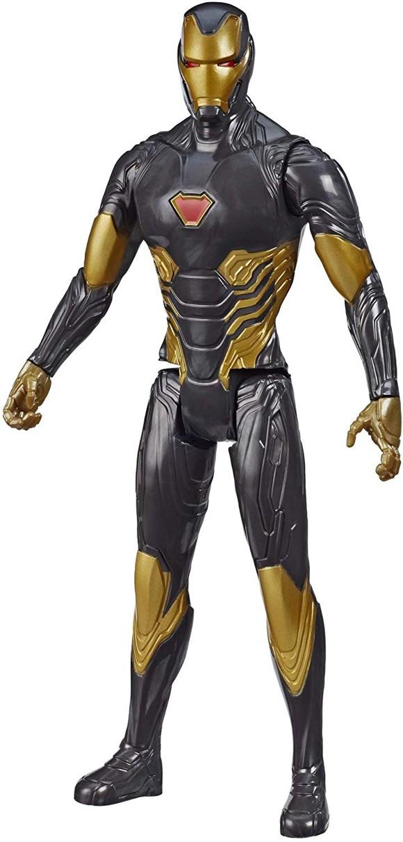Avengers - Titan Heroes - Black/Gold Iron Man - 30 cm (E7878)