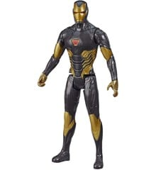 Avengers - Titan Heroes - Sort/Guld Iron Man - 30 cm (E7878)