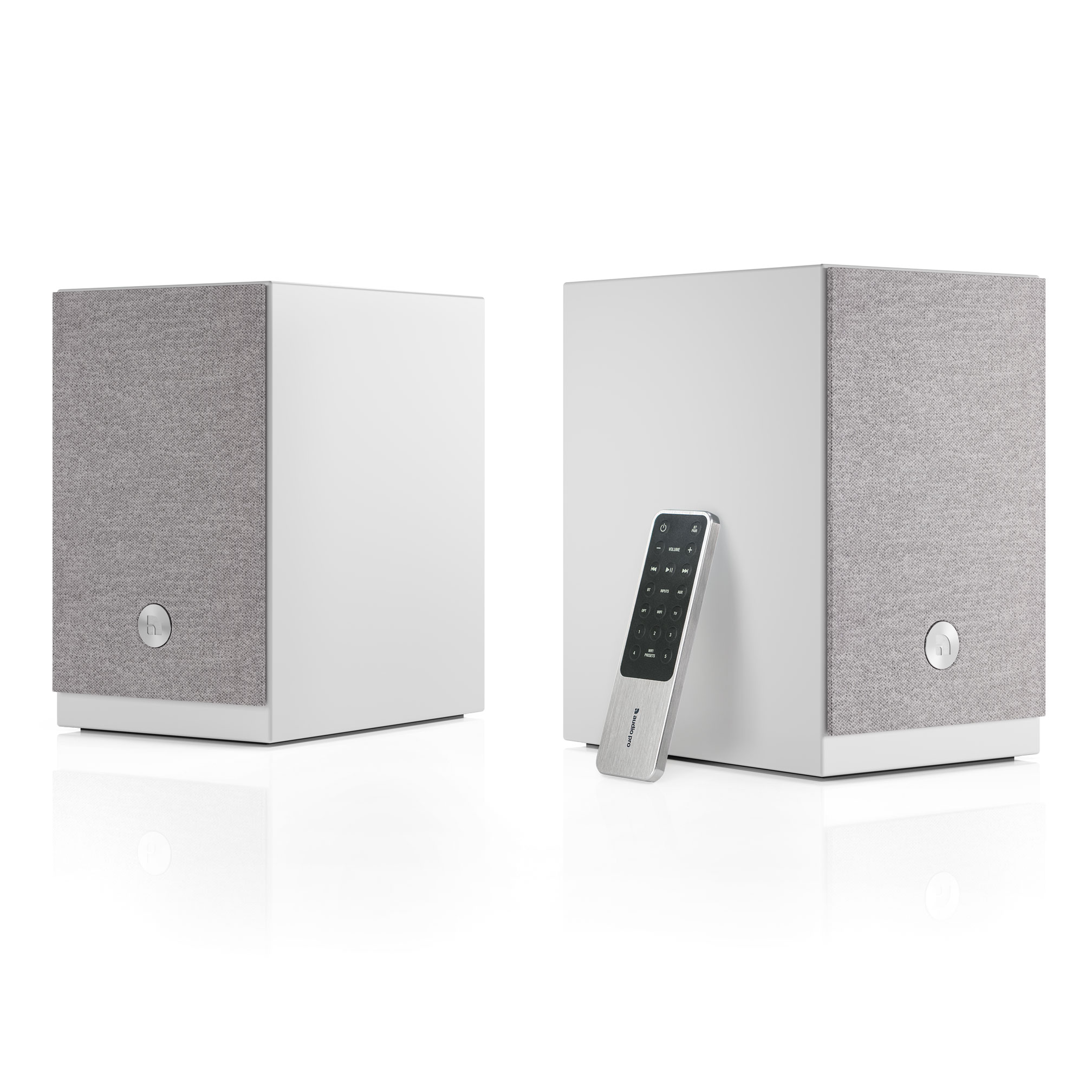 Audio Pro - A26 Compact TV Sound - White
